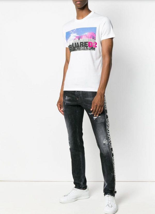 timeless design da546 a3d16 t-shirt DSQUARED2 uomo